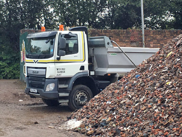 6F5 Recycled Crushed Concrete in Stoke on Trent and Newcastle under Lyme